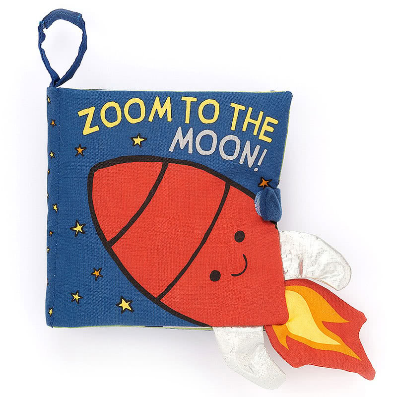 Zoom to the Moon soft book 1