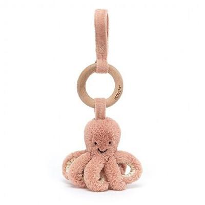 Odell Octopus stroller toy 1