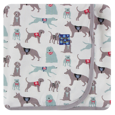 Natural Canine First Responders Bamboo Swaddling Blanket 1