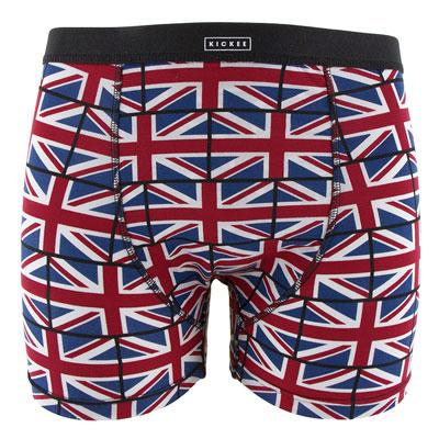 Union Jack Mens boxer briefs  - XL(34-36 in.) 1