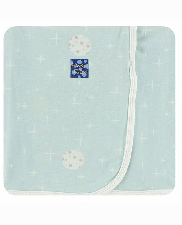 Print Throw Blanket (Spring Sky Full Moon) 1