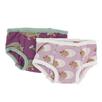 Training Pants Set (Sweet Pea Diictodon and Euoplocephalus) - 2T-3T 1