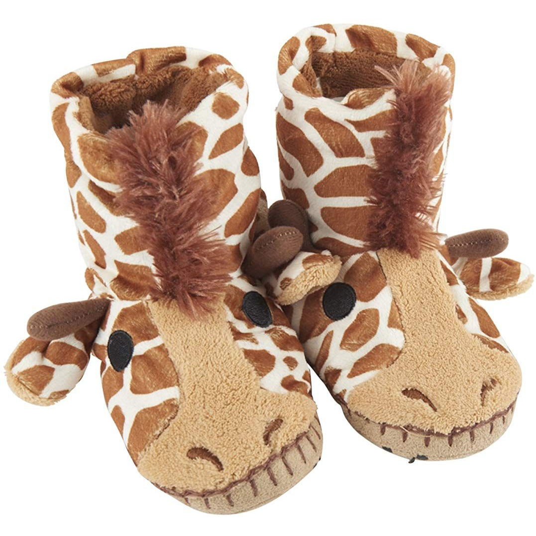 Giraffe children's slippers 1