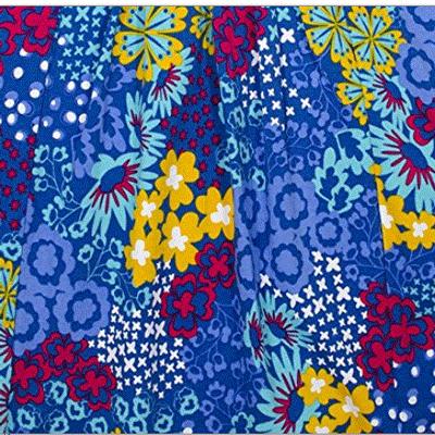 Sapphire floral dress - 6X 2
