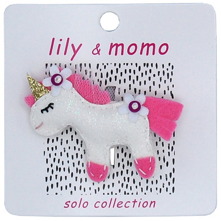 Come fly with me Unicorn hair clip 1