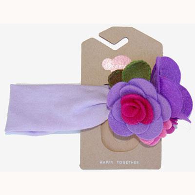 Khloe headband Lavender 1