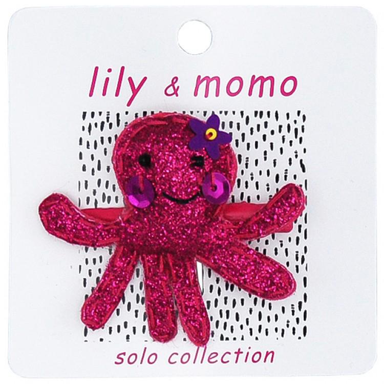 Ollie Octopus hair clip 1