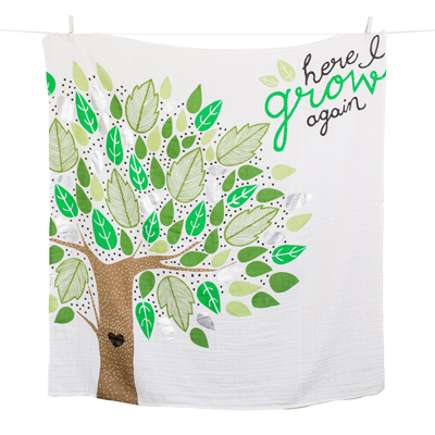 Baby's First Year Deluxe Blanket & Cards Set - Here I Grow Again 2