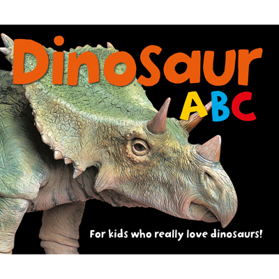 Dinosaur ABC board book 1