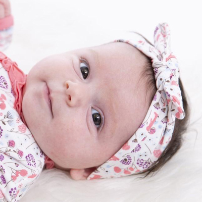 Beatrix floral modal headband 2