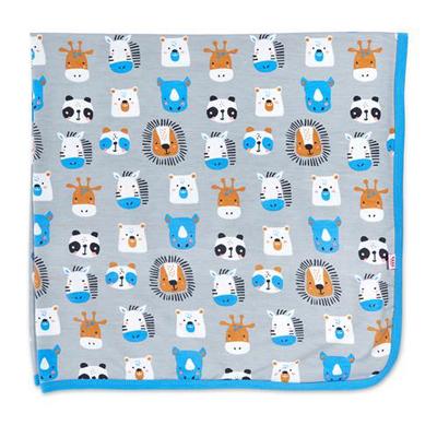 Animal House modal swaddle blanket 1