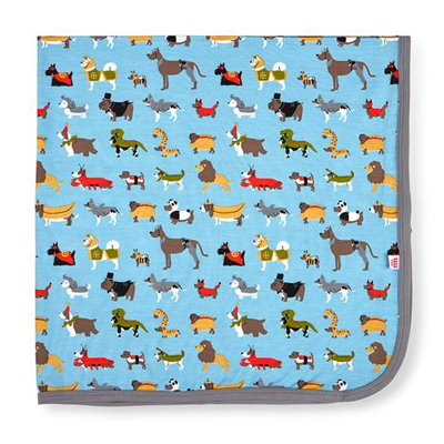 In-dog-nito modal swaddle blanket 1