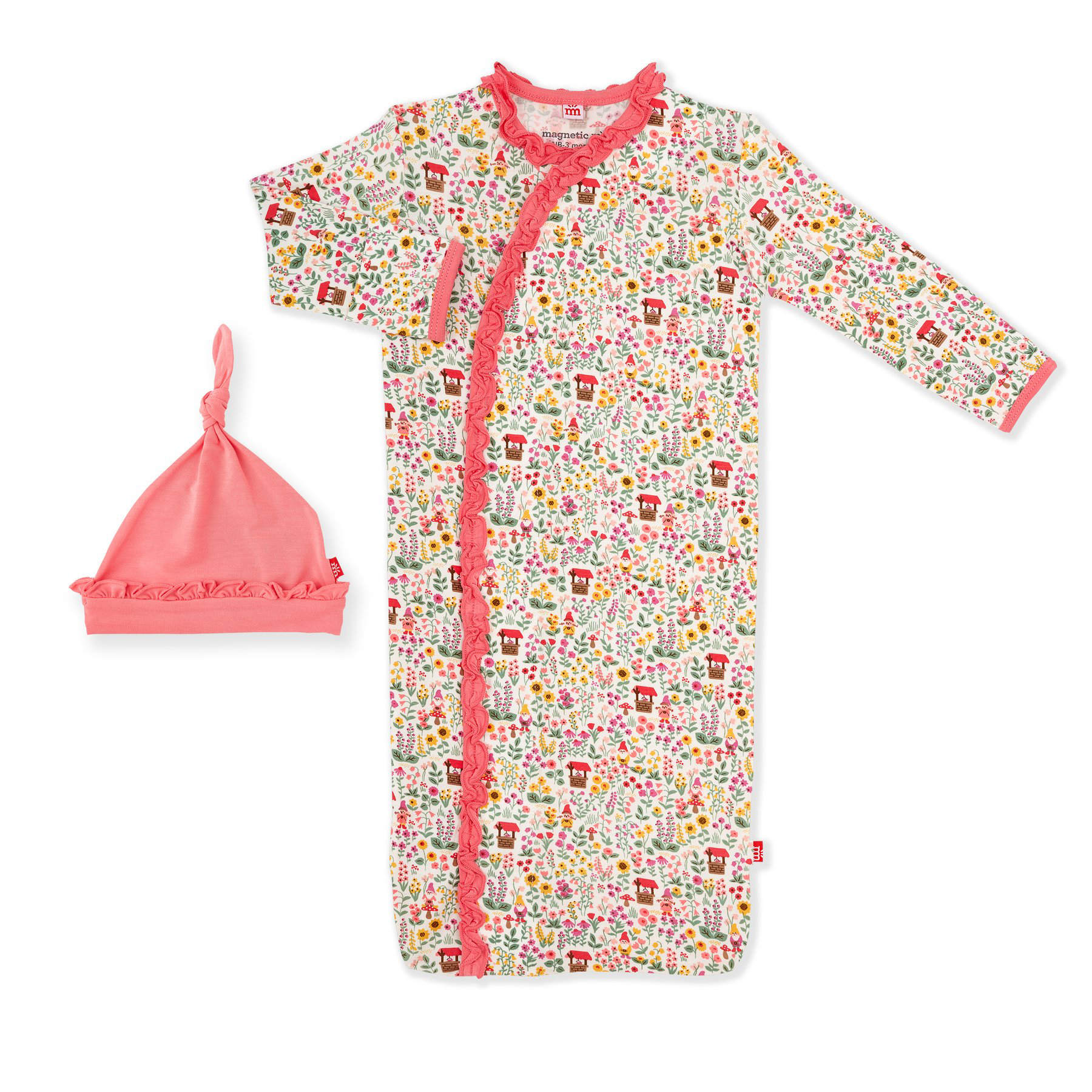 Gnome Sweet Gnome modal magnetic gown set 1