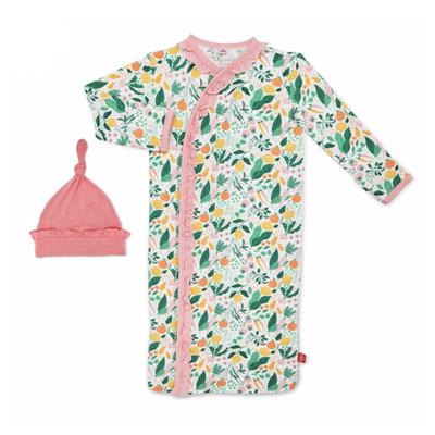 Lemon Verbena modal gown set 1