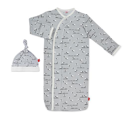 Sheeps meadow modal magnetic gown set 1