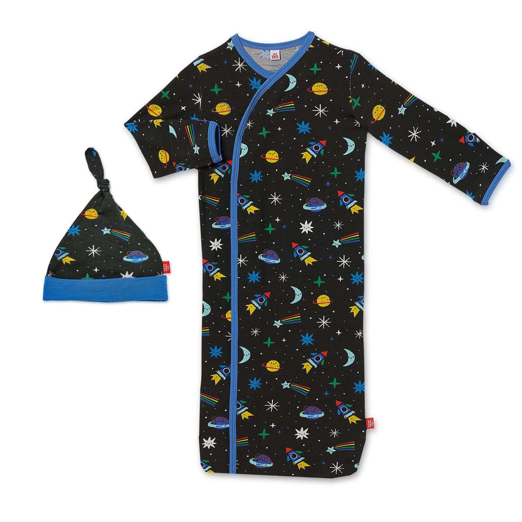 Space chase modal magnetic gown and hat 1