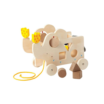 Natural My Pal Elly activity pull toy 1