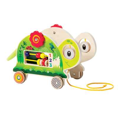 My Pal Truman activity pull toy 2