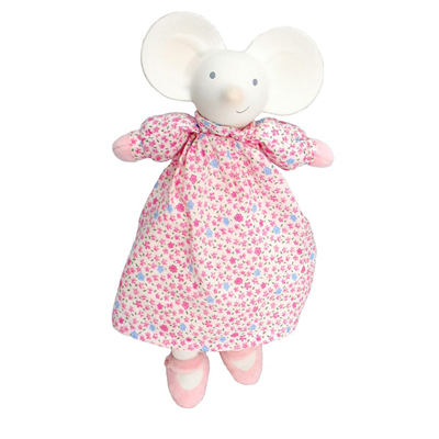 Meiya the Mouse natural rubber teething toy 1