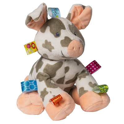 Taggies Patches Pig Soft Toy 1