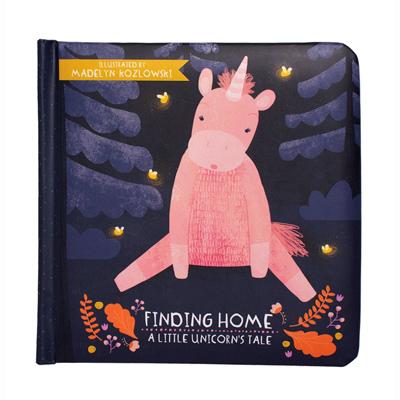 Finding Home - A Little Unicorn's Tale Board Book 1