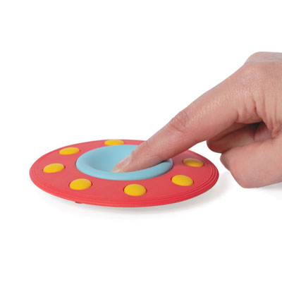 Flying Saucer silicone teether 2