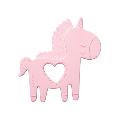 Petals Unicorn Silicone Teether 1