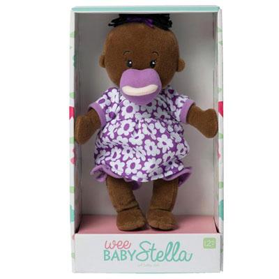 Wee Baby Stella Doll  - Brown 2