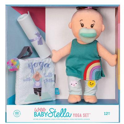Wee Baby Stella Yoga Set - peach 2
