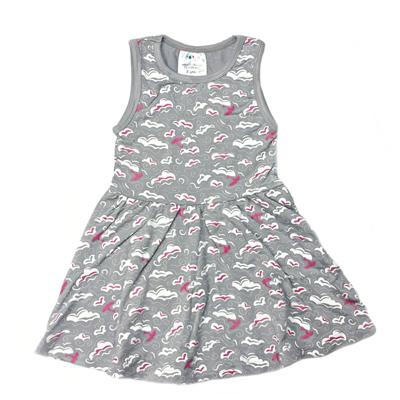 Swirl cloud organic dress 1