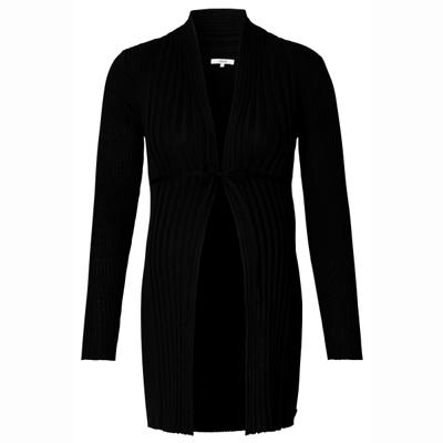 Anne maternity cardigan in Black 3