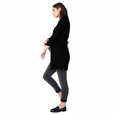 Anne maternity cardigan in Black 2