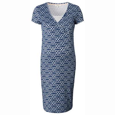 Elisa dark blue nursing dress 3