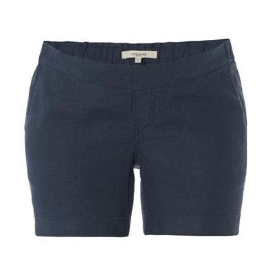 Jenna dark blue maternity shorts 1