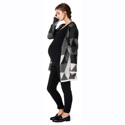 Mette knit maternity cardigan 3