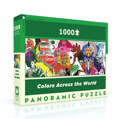 Colors Across the World 1000 piece puzzle 1
