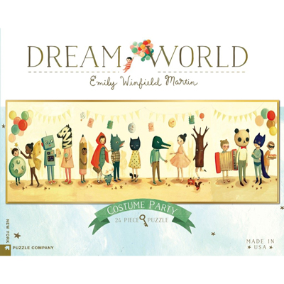 Dream World -Costume Party 24 piece puzzle 1
