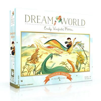 Dinosaur Dream 80 piece puzzle 1