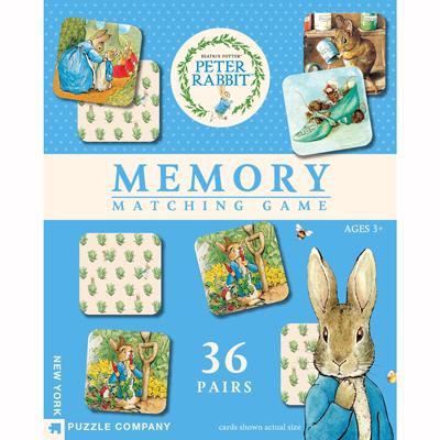 Peter Rabbit Memory Game 1