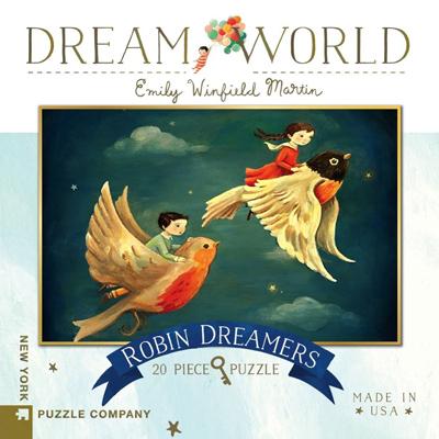 Robin Dreamers mini 20 piece puzzle 1