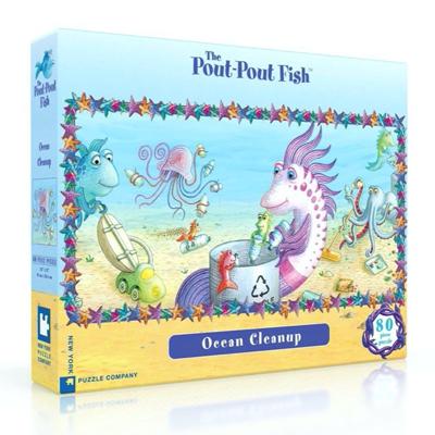 Pout Pout Ocean Cleanup 80 piece puzzle 1