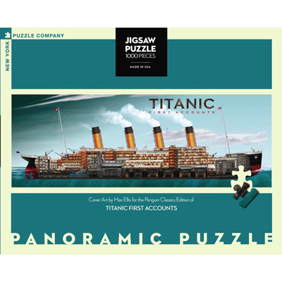 Titanic First Accounts 1000 piece puzzle 1