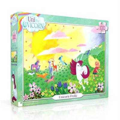 Uni the Unicorn Unicorn Frolic 100 piece puzzle 1
