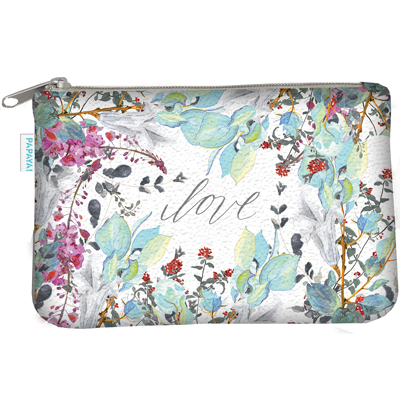 Love floral coin purse 1