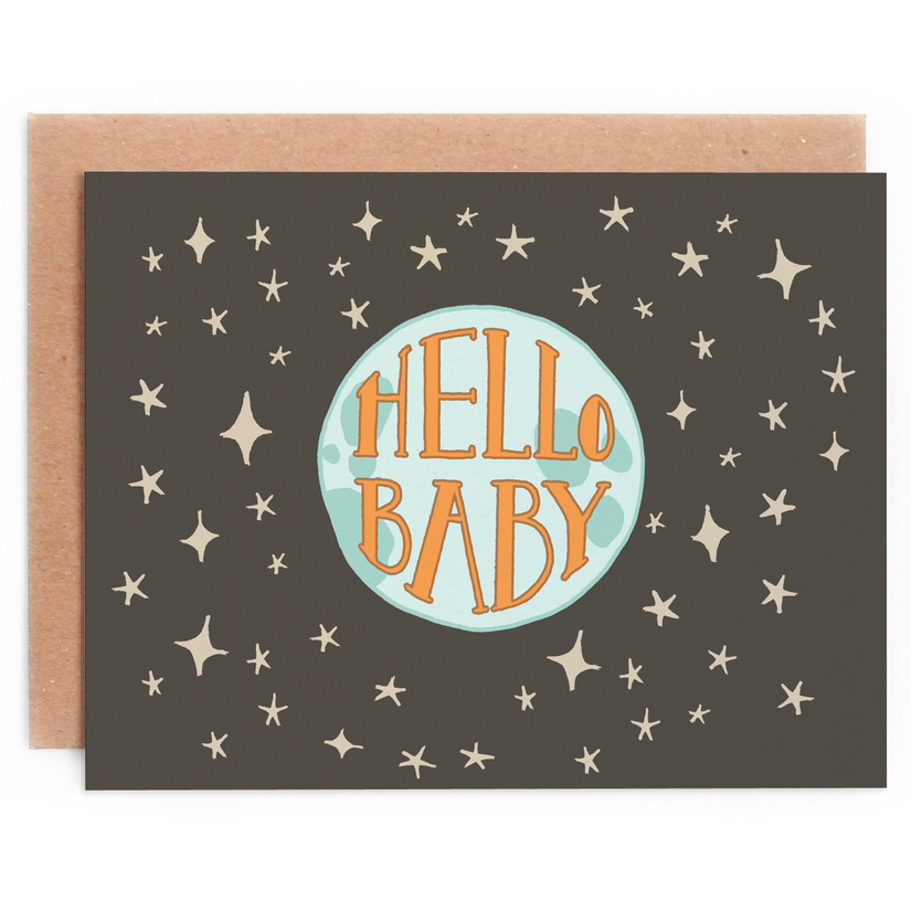 Hello Baby Card 1