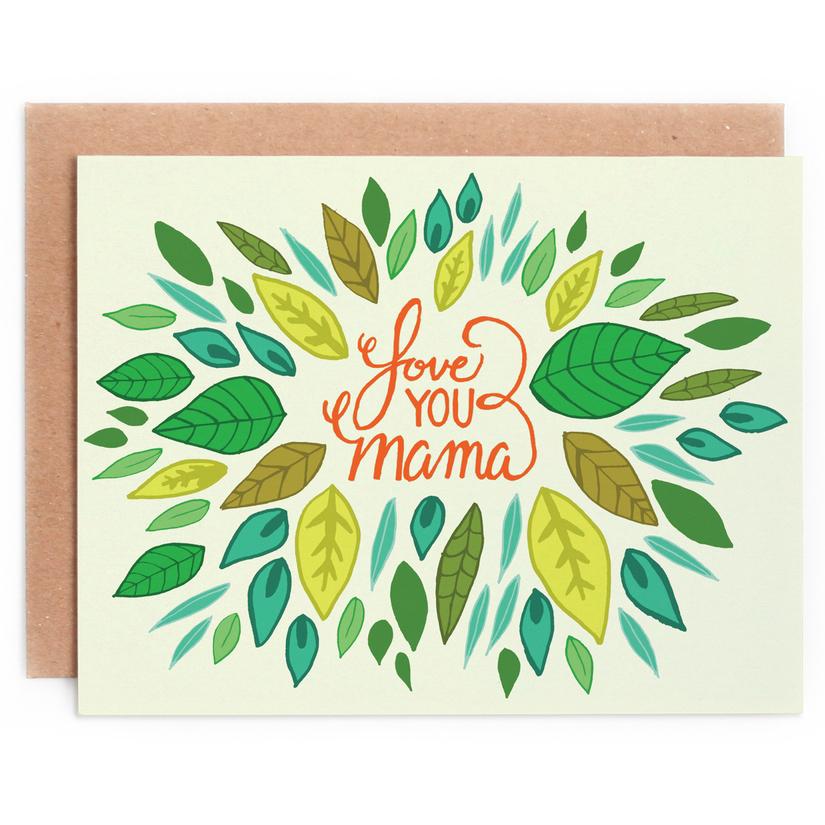 Love You Mama Card 1