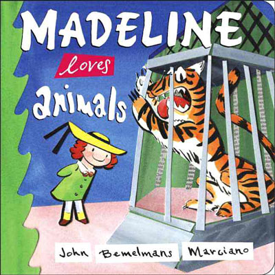 Madeline loves animals (board book) 1