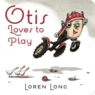 Otis loves to play (board book) 1