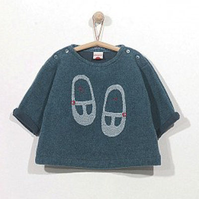 Blue maryjane light sweater 1