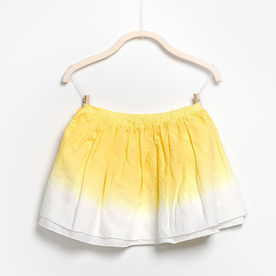 Yellow ombre skirt 1